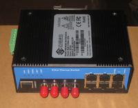 MIEN6208-2M-ST20-DC24 8口百兆网管型卡轨式以太网交换机