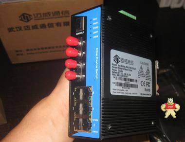 MIEN6208-2M-ST20-DC24 8口百兆网管型卡轨式以太网交换机 MIEN6208-2M-ST20-DC24,迈威,迈威交换机,迈威工业交换机,工业交换机