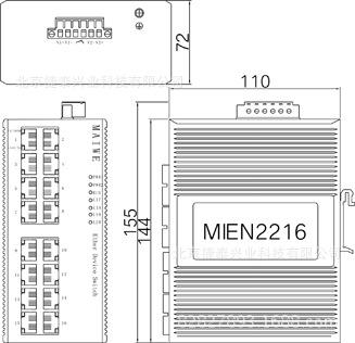 MIEN2216-DC24迈威工业交换机 MIEN2216-DC24,MIEN2216,迈威工业交换机,迈威交换机,工业交换机