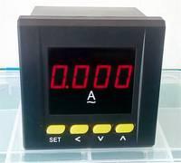 数显电流表80x80 交流单相电流表 带一路上下限报警