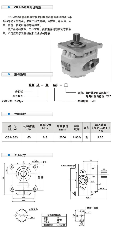 齿轮泵CBJ CBJ,齿轮泵,油泵