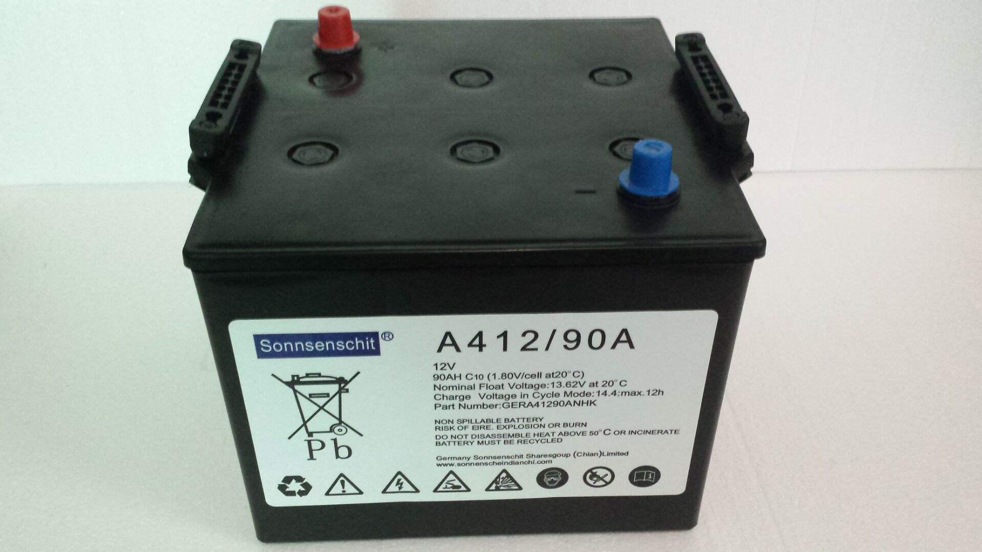 德国阳光A412/90A蓄电池 阳光A412/90A 德国阳光12V90ah蓄电池 阳光A412/90A,德国阳光,A412/90A,蓄电池,12V90AH