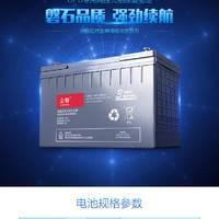 山特蓄电池 C12-100 12V100AH 铅酸免维护蓄电池