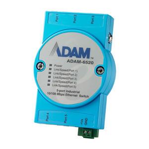 研华模块ADAM-6520L-AE工业交换机ADAM6520 研华模块,ADAM-6520,工业交换机