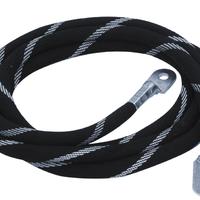 大电流测试导线 大电流链接线 测试导线大电流纱编织大电流试验导线