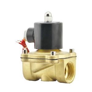 常闭 全铜电磁阀水阀 气阀2W160-15  4分