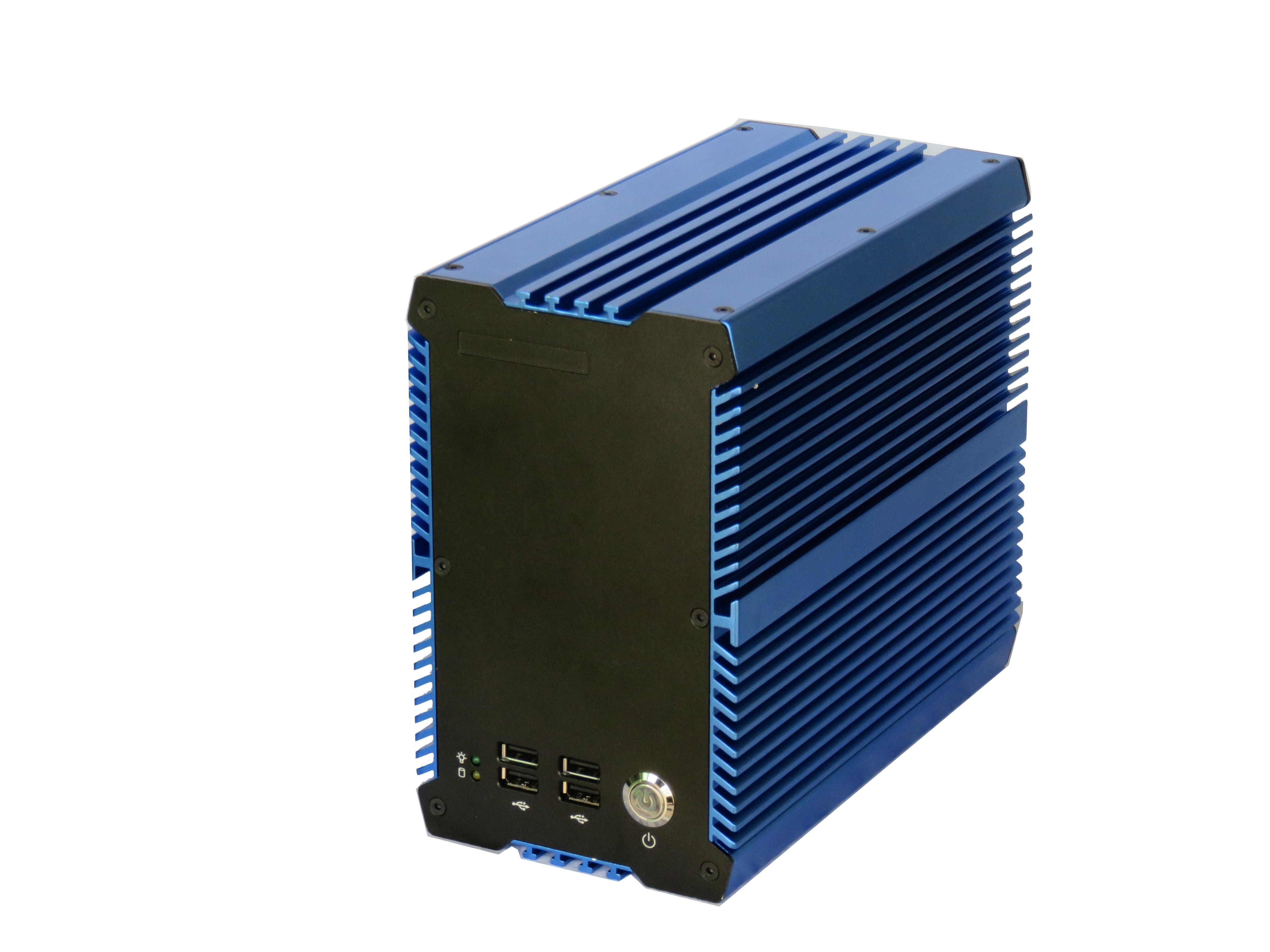 工控厂家直销嵌入式无风扇工控机 电脑主机支持2个PCI槽 DEC-1032