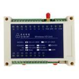 8路远距离无线io遥控水泵 plc 移动设备继电器输出模块