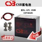 CSB蓄电池UPS直流屏专用GP12520/12V52AH