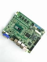 板载Haswel四代I5-4200U 4G内存 32GSSD超低功耗3.5寸工控主板