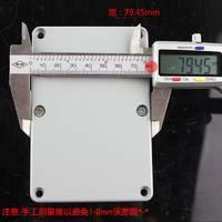 铸铝防水盒120*80*56接线端子盒过线盒电缆接线盒WG-FA2可