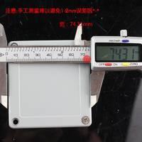 WG-FA18铸铝防水盒80*75*60金属按钮盒接线端子盒过线盒铝盒防溅盒