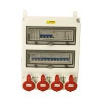 24位开关带防水插座箱、防水电源检修箱、三防配电插座箱按客户实际要求报价