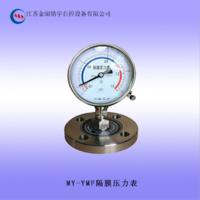 供应 耐震隔膜压力表 0-60mpa隔膜压力表 螺纹不锈钢材质