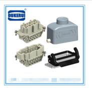 无锡 重载连接器HE-010 10芯 16A 矩形插头航空插头热流道接插件