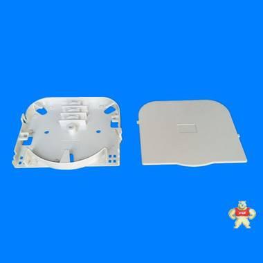 多媒体信息箱配件,4芯熔纤盘,6芯直熔盘,光纤熔接盘