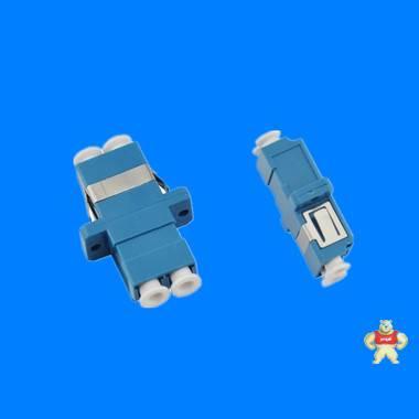 厂家大量销售LC双联光纤适配器,SC型LC光纤法兰盘,LC/SM