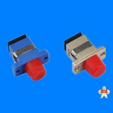 供应塑料转接器,FC-SC光纤适配器,电信级FC转SC光纤法兰