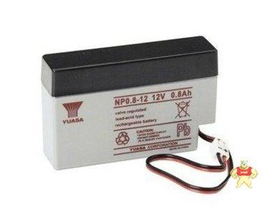 正品原装汤浅蓄电池NP0.8-12 12V0.8AH小容量仪器电池