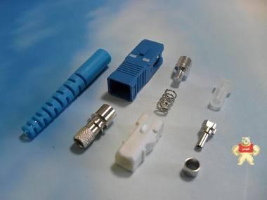 供应SC光纤连接器散件,0.9SC散件,2.0,3.0SC跳线散件