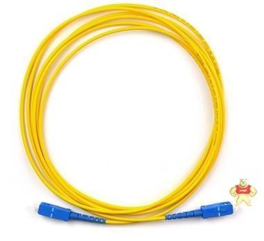 SC-FC光纤跳线,3米电信级数据0.3以内,三环插芯