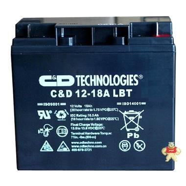 西恩迪 大力神蓄电池 C-D12-18LBT UPS 12V18AH 免维护铅酸电瓶