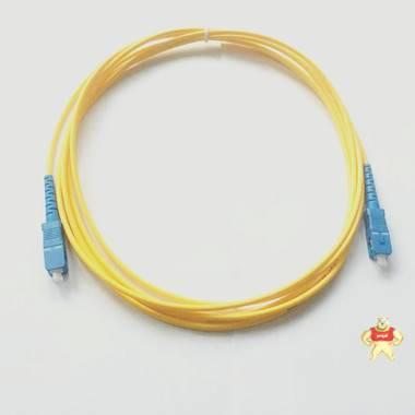光纤跳线,1.5米SM光纤活动连接器,3.0电信级SC光纤跳线
