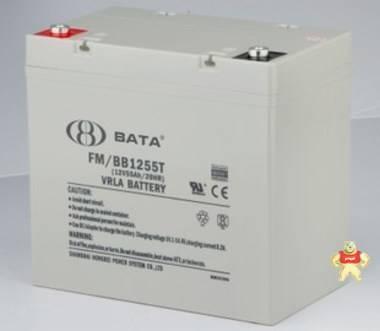 鸿贝蓄电池12V55AH 鸿贝FM/BB1255T蓄电池 12V55AH铅酸蓄电池包邮