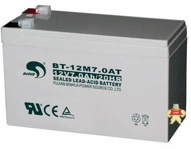 赛特BT-12M7.0AT(12V7Ah/20HR)门禁、UPS、电梯、消防用蓄电池