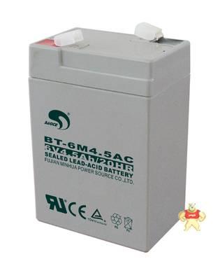 赛特BT-6M4.5AC(6V4.5Ah/20HR)铅酸蓄电池