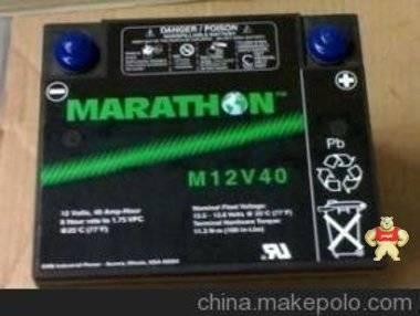 美国进口原装GNB蓄电池M12-40-12v40ah系列-原装正品-UPS专用电池