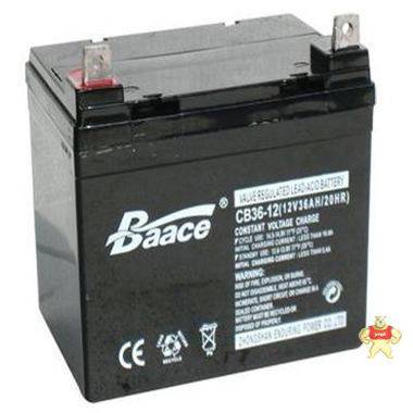 Baace蓄电池C36-12 12V36AH报价/恒力蓄电池12V36AH全国包邮