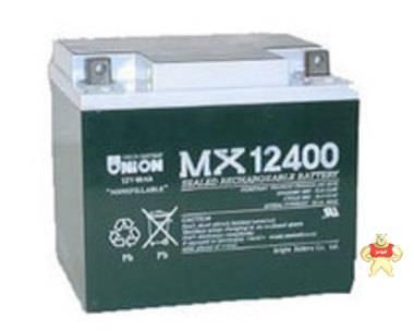 韩国友联蓄电池12V40AH UNION MX12400蓄电池 原装正品 质保三年