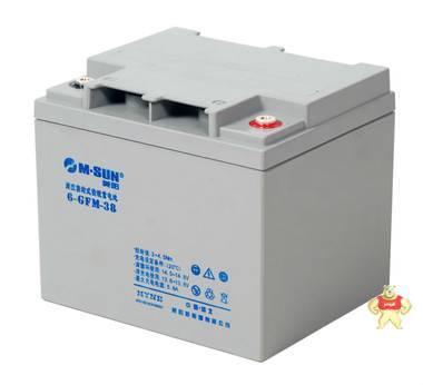美阳/M.SUN 6GFM38 12V38AH铅酸蓄电池 免维护原装正品