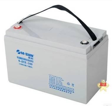 美阳6GFM100 M.SUN12V100AH 铅酸免维护蓄电池计算机系统专用