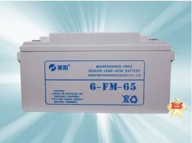 美阳蓄电池6FM65 M.SUN(美阳)12V65AH 铅酸免维护固定型蓄电池