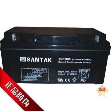 山特蓄电池SANTAK蓄电池6GFM65(12V65AH/20HR)现货供应