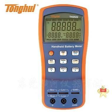 电池测试TH2522 TH2823 TH2523A手持式交直流低电阻电池内阻测试