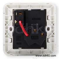 ABB 开关插座 德静空调插座16A一开三孔插座AJ228
