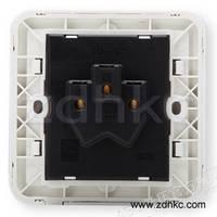 ABB 开关插座 德静空调插座16A三孔插座AJ206