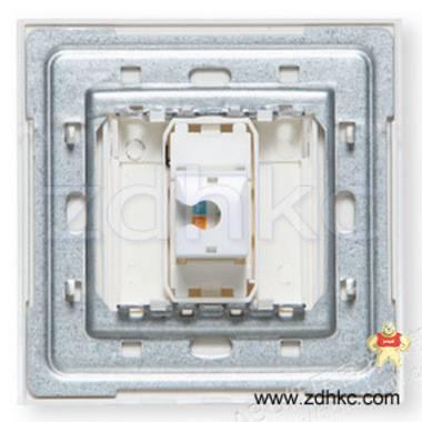 ABB 开关插座 由艺一位电话插座RJ11 AU32144-WW