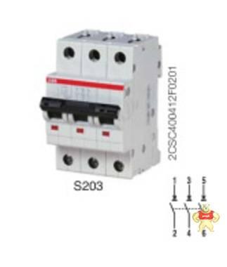 【ABB微型断路器】S203P-C40 (DE);10096638
