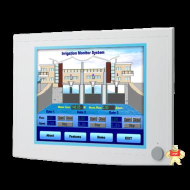 研华17寸工业显示器FPM-5171G/1080x1024分辨率VGA-DVI-D视频输入