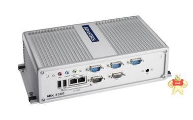 研华嵌入式工控机ARK-3360L1401E-T集成ATOM N450 CPU低功耗