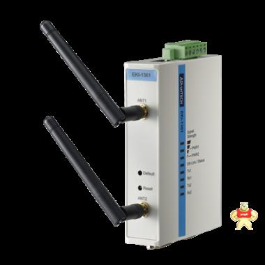 研华1端口RS-232/422/485转802.11b/g/n Wlan串口服务器EKI-1361