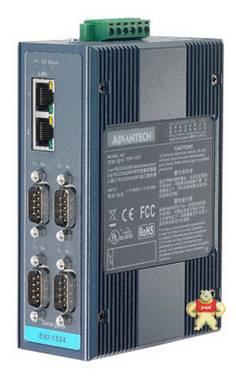 研华EKI-1524-BE通讯管理4 口RS-232/422/485串口设备联网服务器