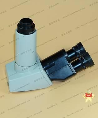 尼康显微镜 三目观察头 CFW 10X 目镜 摄影非C口 议价