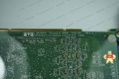 [二手]MATROX GEN/X/00/8/STD 图像采集卡 带原装数据线
