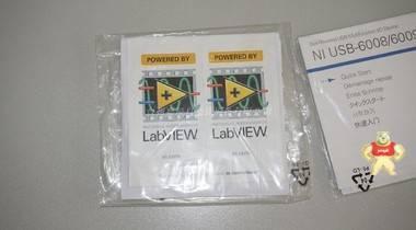 NI USB-6008/USB-6009 说明书、软件光盘 全新
