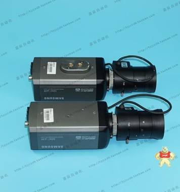 原装三星 SDC-435 彩色监控相机 带原装镜头 9成新